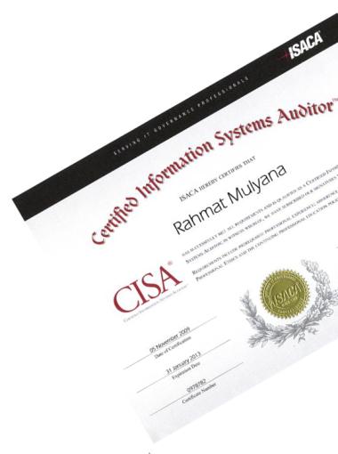 CISA Certificate