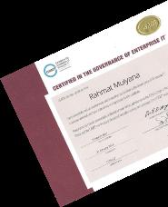 CGEIT Certificate