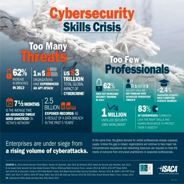 Cybersecurity Skills Crisis